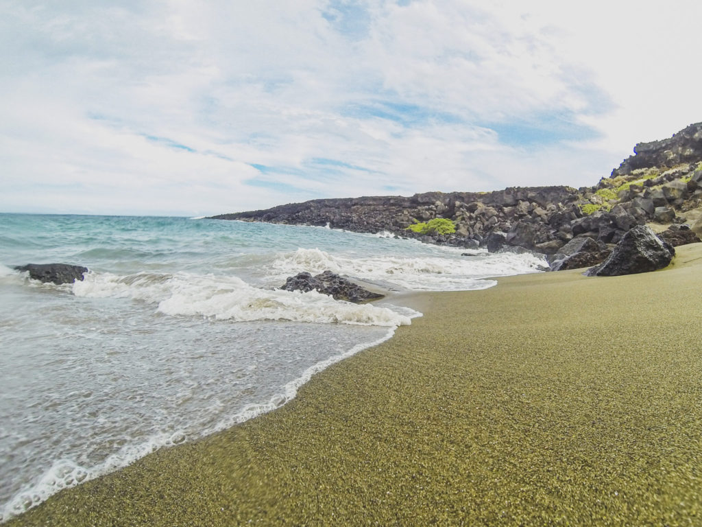 How To Get The Green Sand Beach On Island Of Hawaii